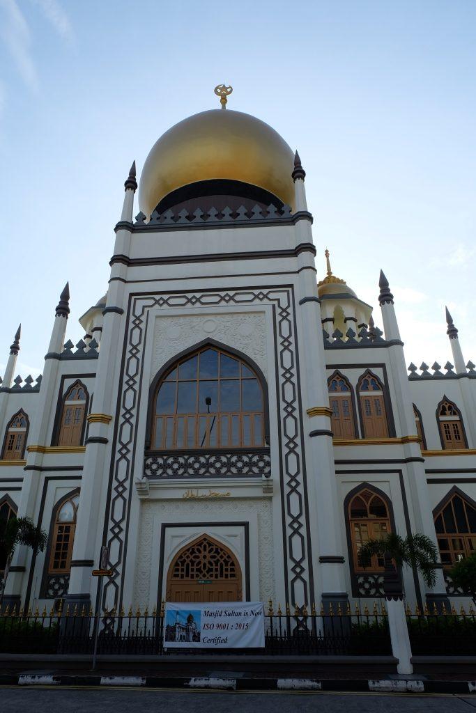 Liburan ke Singapura mampir ke Masjid Sultan Singapore