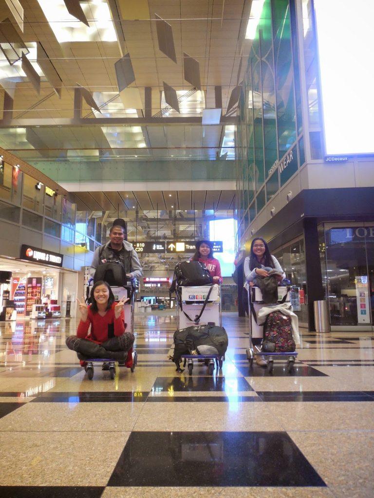 Gratis di Changi