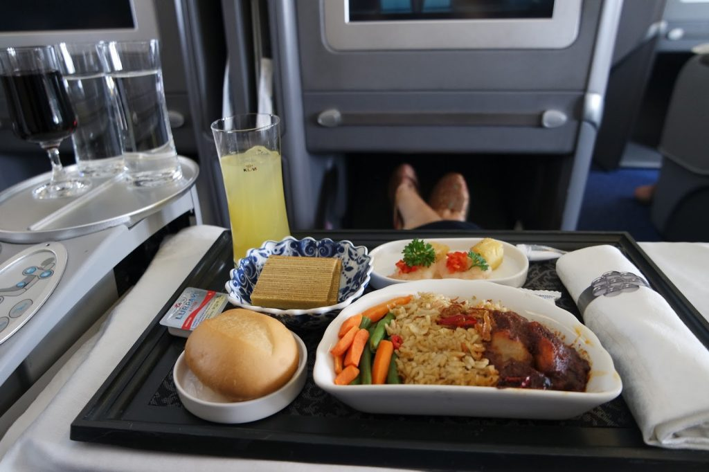 KLM bisnis class