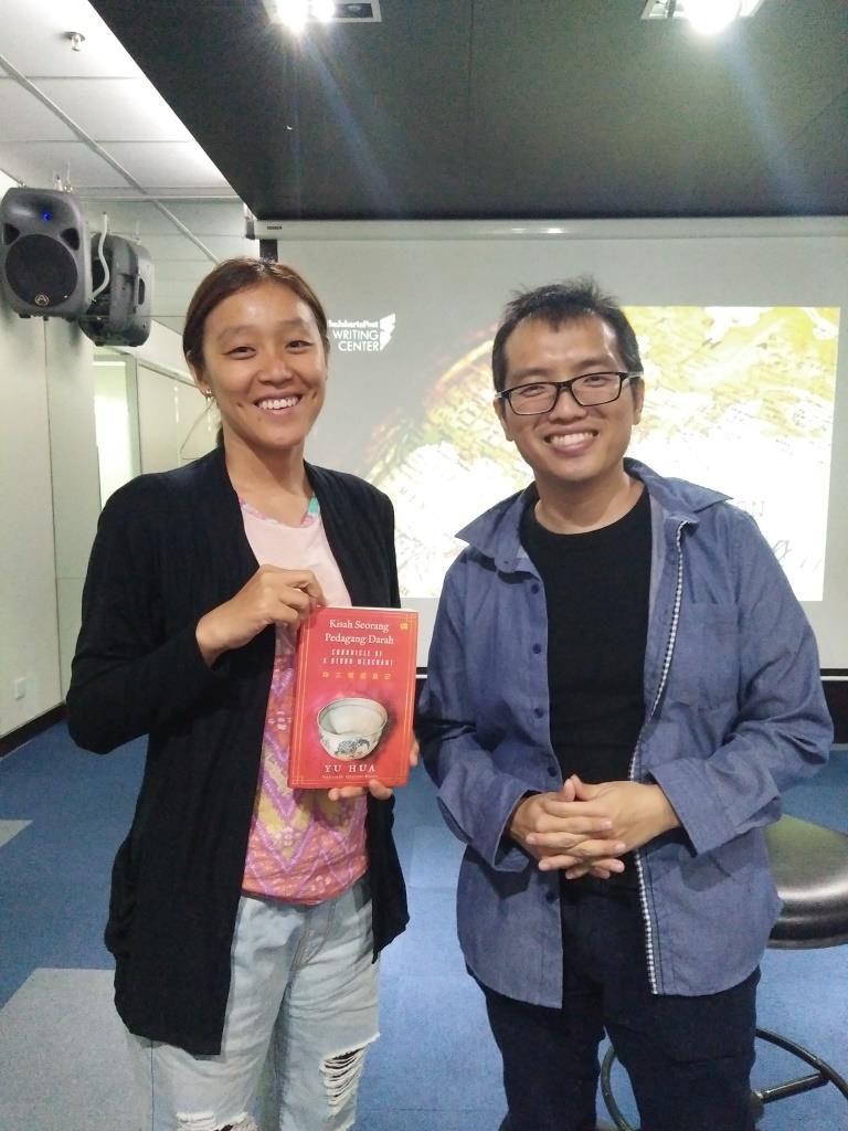 Lenny Lim with Agustinus Wibowo