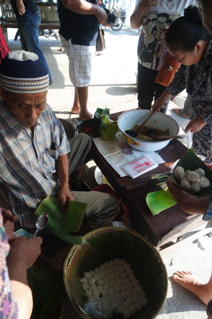 nasi penggel kebumen