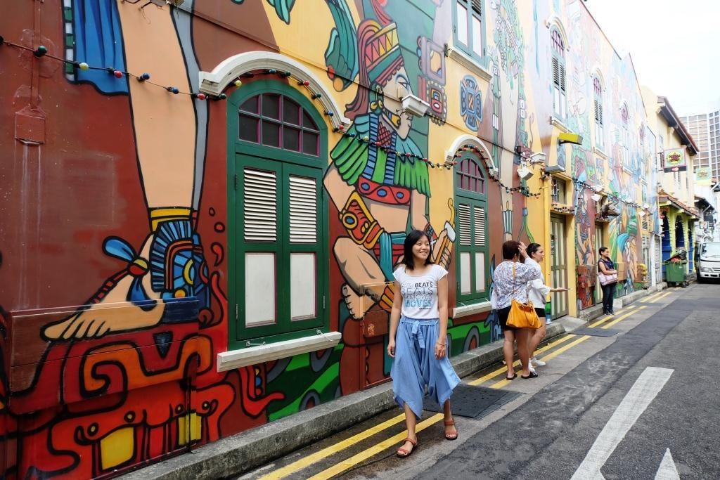 Kampong Glam Haji Lane Singapore