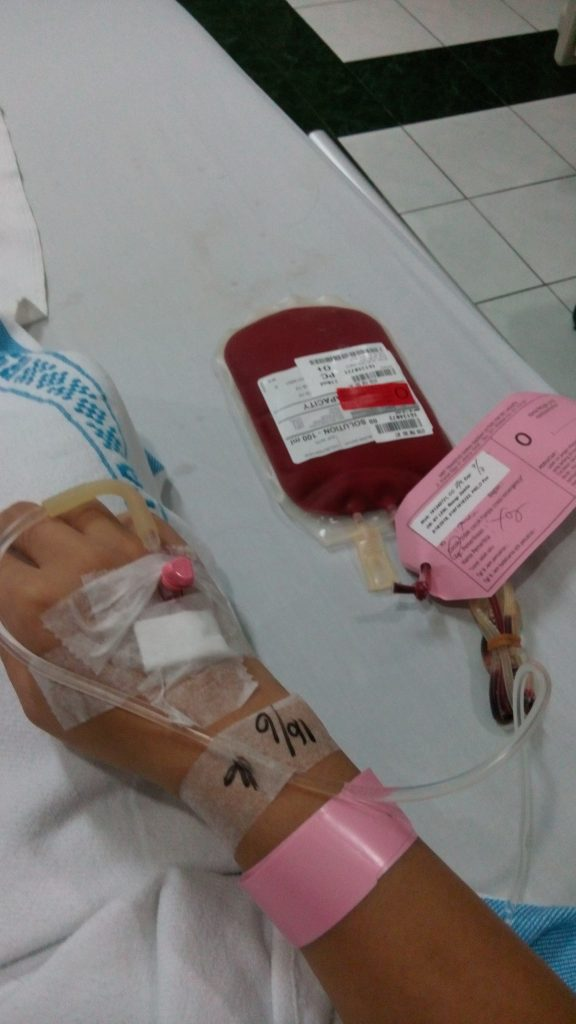 infus darah