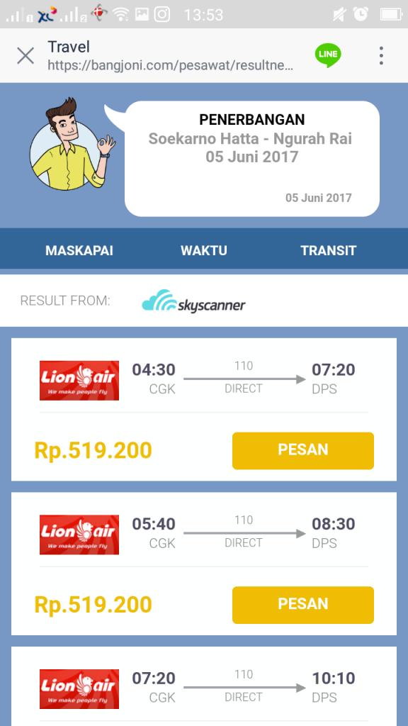 bang joni travel