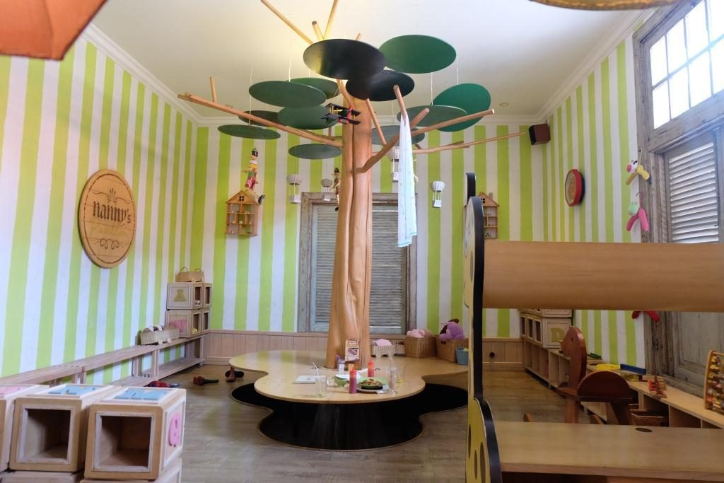 nanny pavillon