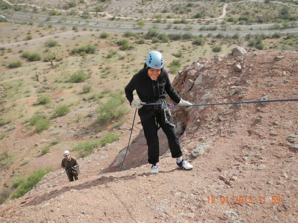 rapelling arizona