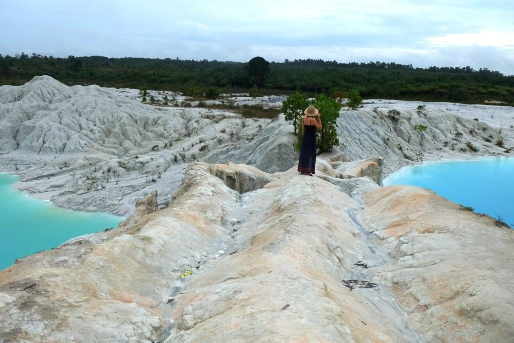 Danau Kaolin di Bangka