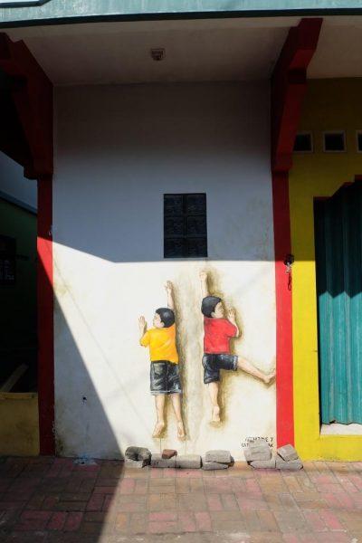mural kampung pelangi