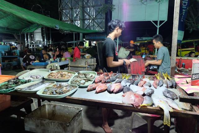 Pasar di Gili Trawangan