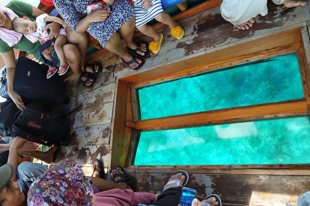 Glass Bottom Boat di Gili Trawangan