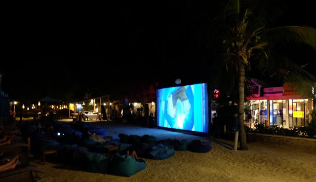 Movie time in Gili Trawangan
