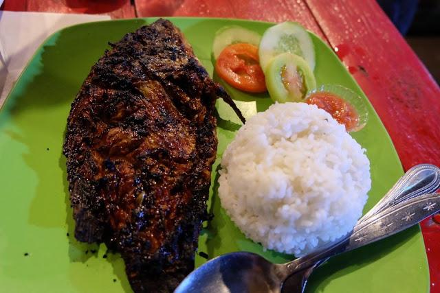 Seafood ala Gili Trawangan