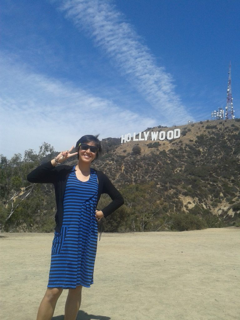 hollywood sign LA