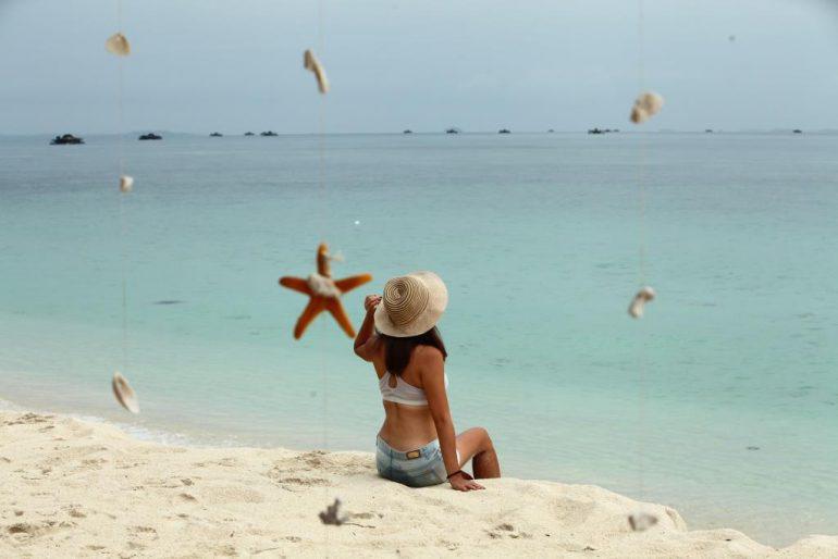 white sand island bintan