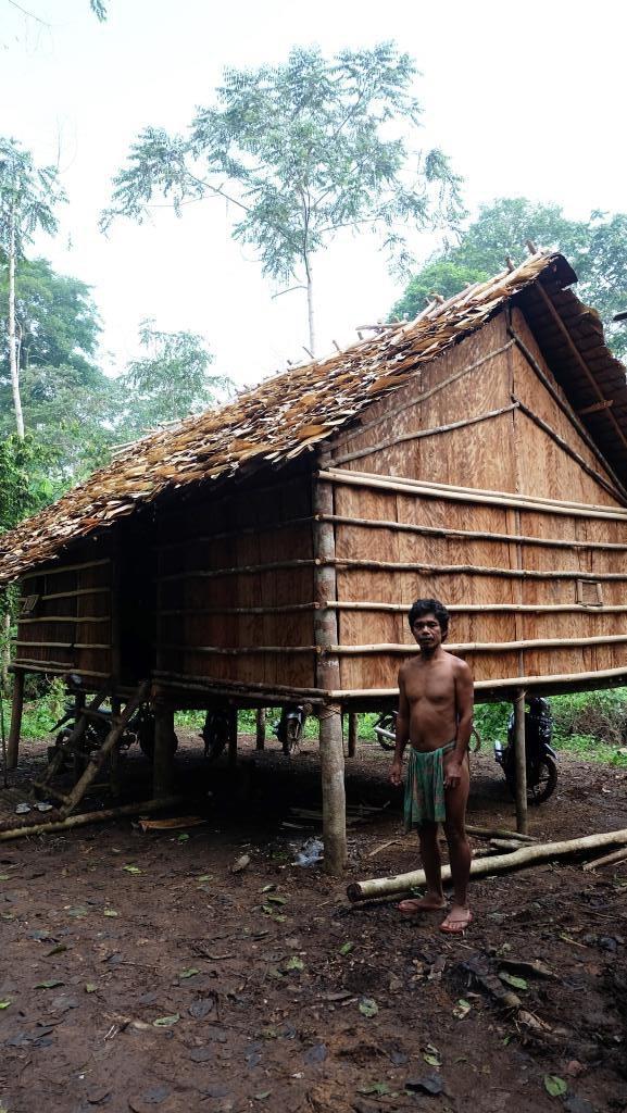 rumah suku anak dalam