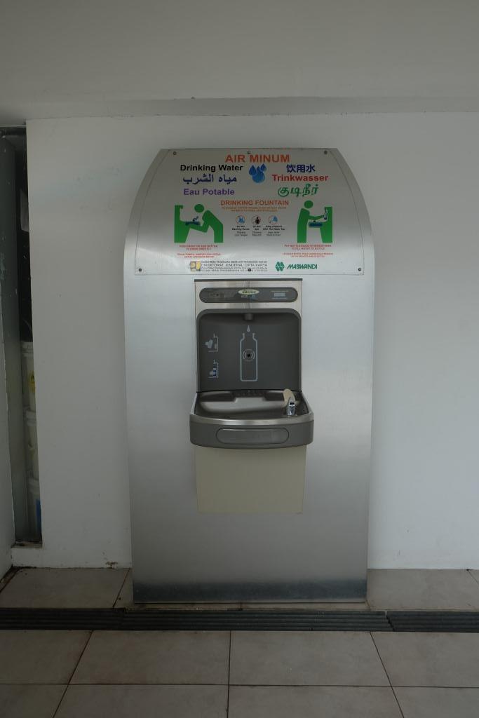 mesin refill air minum