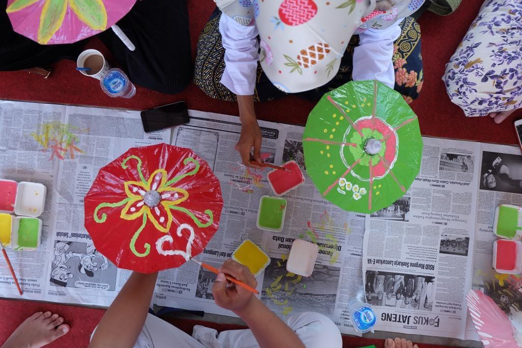 workshop payung