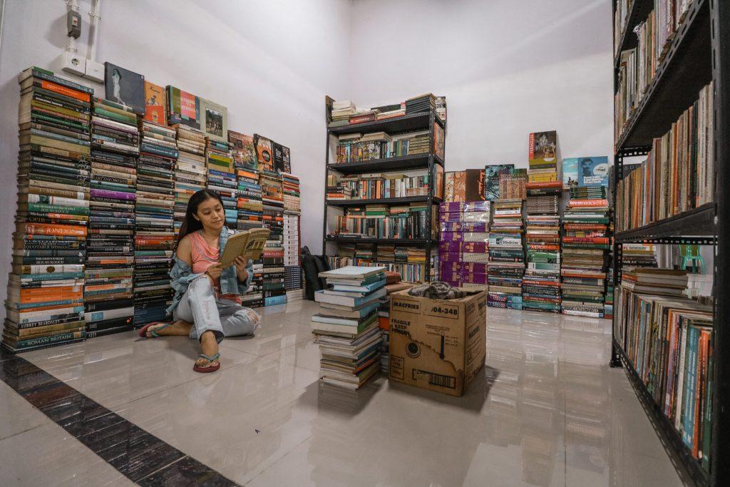 pasar buku bekas
