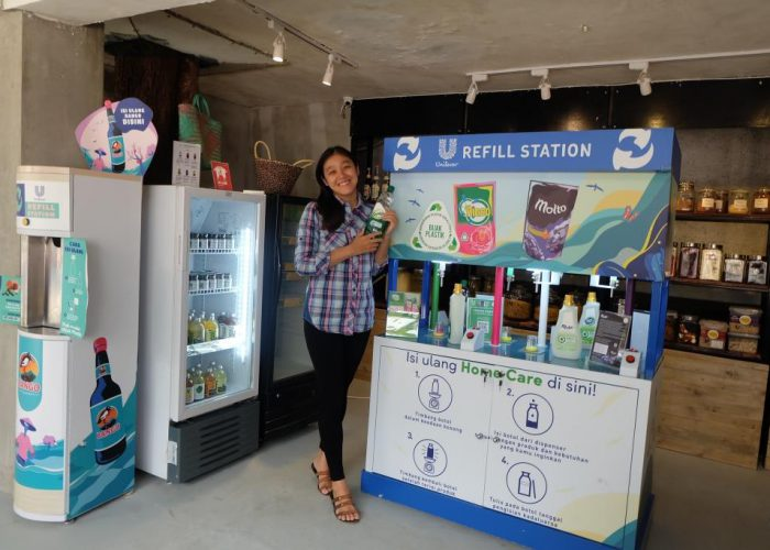 refill station unilever