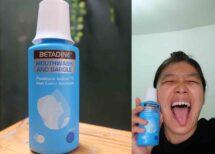 betadine mouthwash