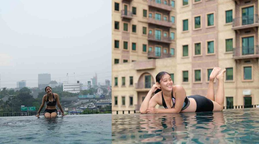 Kolam Renang Di Jakarta Ala Infinity Pool Travel Diary Of Lenny Lim